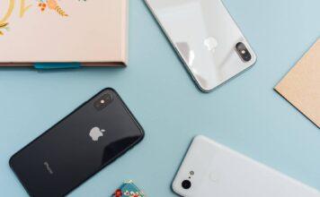 3 telefony iPhone